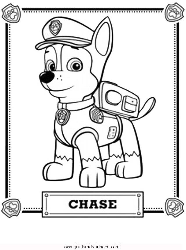 paw patrol 02 gratis Malvorlage in Comic & Trickfilmfiguren, Paw ...