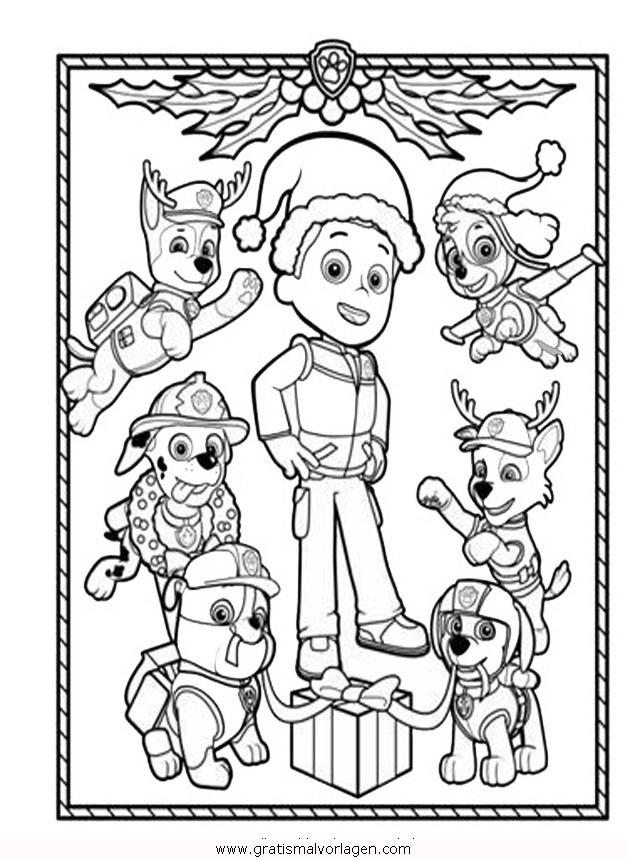Paw patrol 03 gratis malvorlage in comic for Disegni da colorare paw patrol