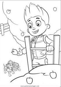 Pawpatrol Ryder 2 Gratis Malvorlage In Comic Trickfilmfiguren Paw