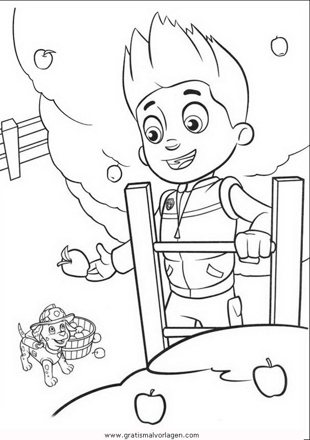 pawpatrol ryder 2 gratis malvorlage in comic