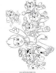 Pawpatrol Ryder 3 Gratis Malvorlage In Comic Trickfilmfiguren Paw