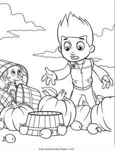 Pawpatrol Ryder 5 Gratis Malvorlage In Comic Trickfilmfiguren Paw