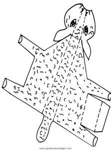 Malvorlage Gegenstände bauen pecora