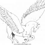 Pegasus Malvorlagen Zum Ausmalen Fur Kinder