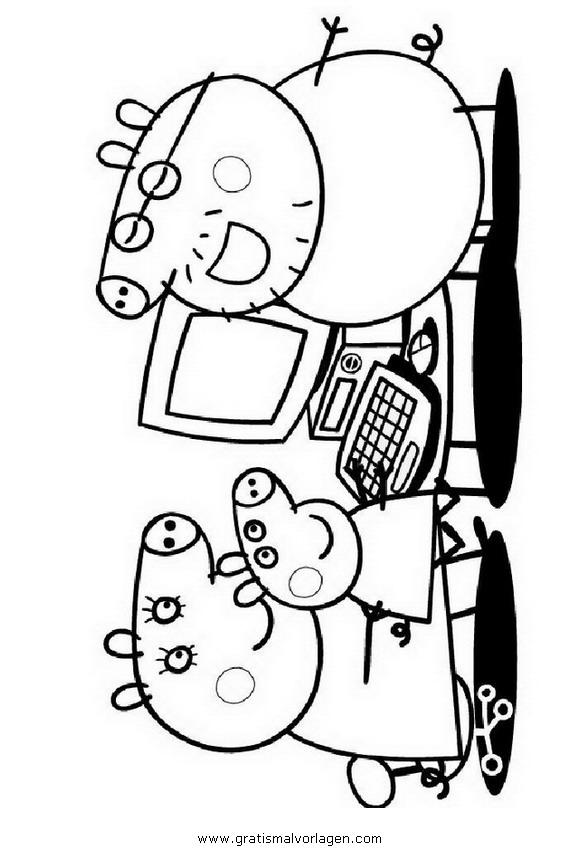 peppa wutz 07 gratis malvorlage in comic