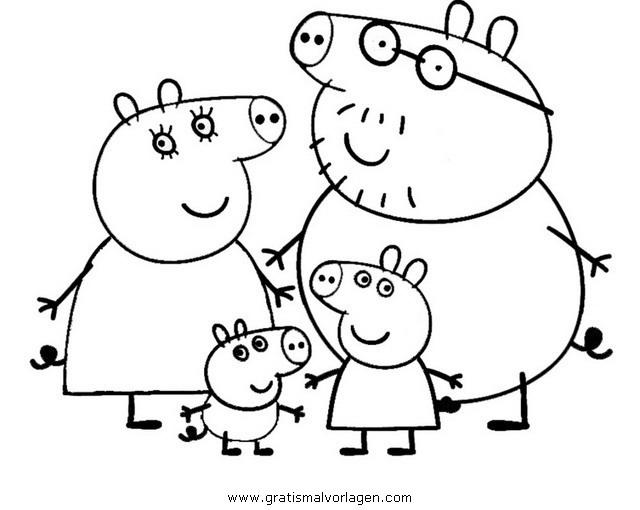 Peppa wutz 16 gratis malvorlage in comic for Peppa pig disegni da colorare