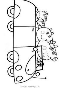 peppa wutz malvorlagen in english - kinder zeichnen und