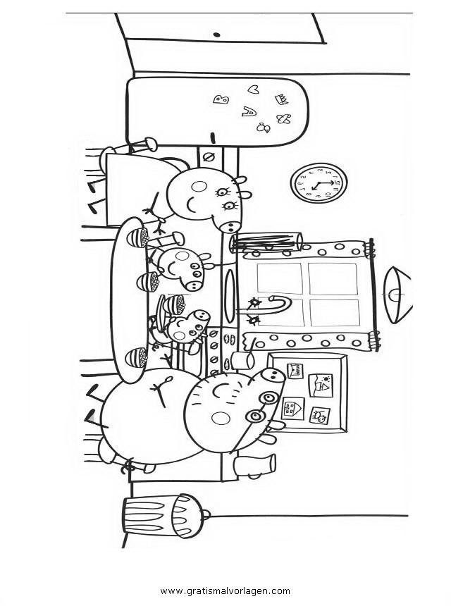 peppa wutz 23 gratis malvorlage in comic