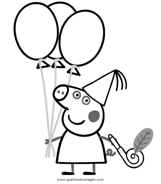 Kinder Malvorlagen Peppa Wutz - Malvorlagen