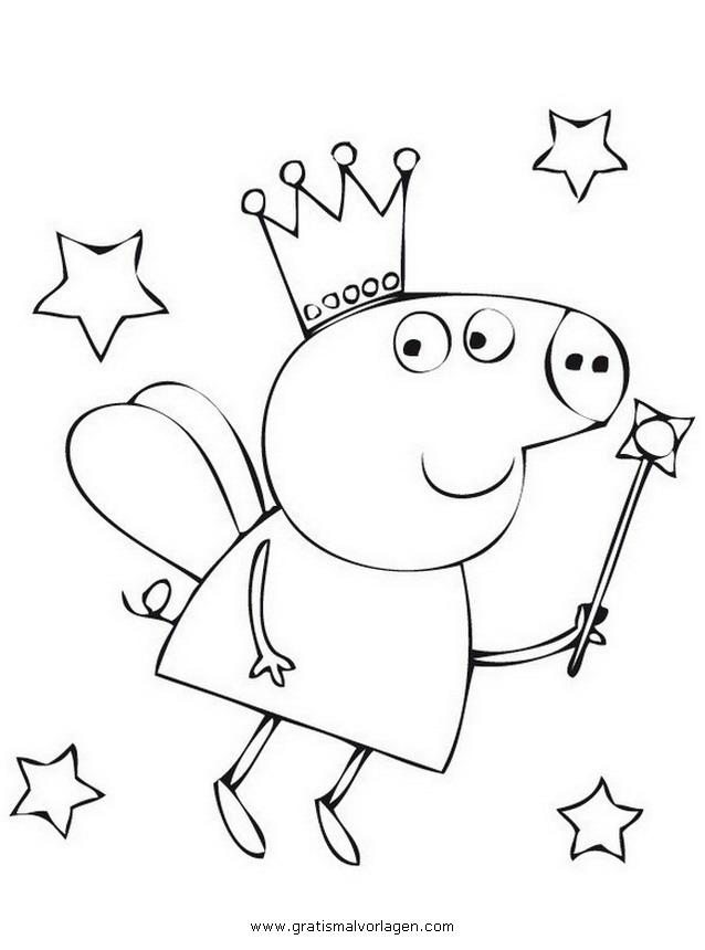 Peppa wutz 42 gratis malvorlage in comic for Peppa pig da stampare