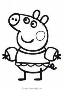 peppa wutz 47 gratis malvorlage in comic