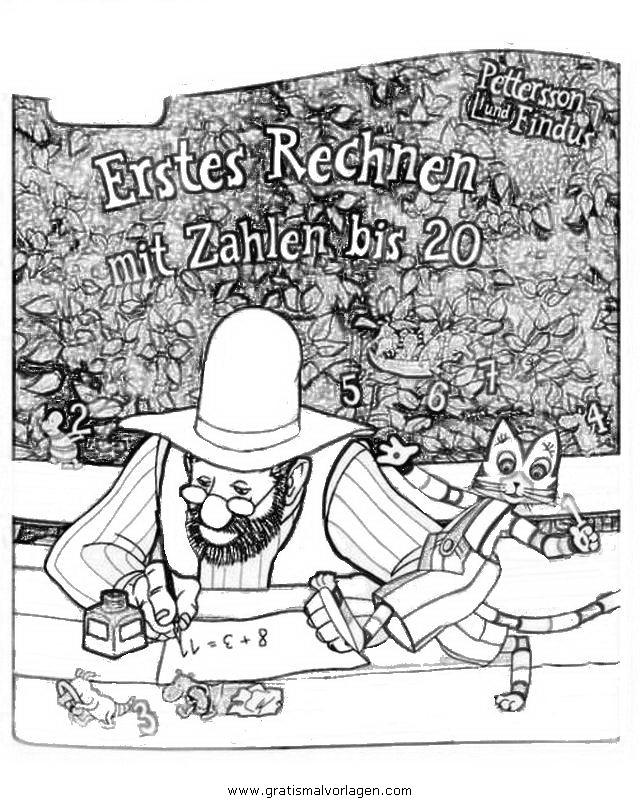 petterson findus 22 gratis Malvorlage in Comic & Trickfilmfiguren ...
