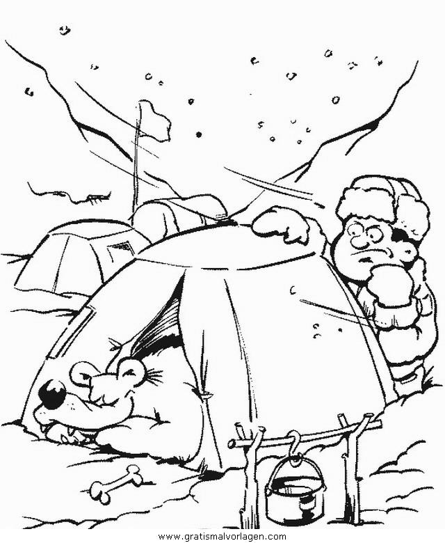 Wolf cub scout pages coloring pages for Wolf cub coloring pages