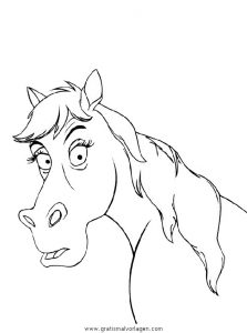 Malvorlage Pferde pferde 04