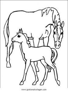 filly pferd malvorlagen zum ausmalen