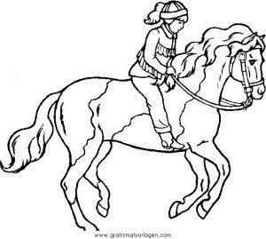 Pferde 47 Gratis Malvorlage In Pferde Tiere Ausmalen