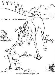 pferde 51 gratis Malvorlage in Pferde, Tiere - ausmalen