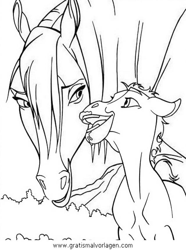pferde 52 gratis malvorlage in pferde tiere  ausmalen