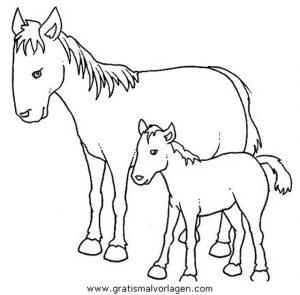pferde 54 gratis malvorlage in pferde, tiere - ausmalen