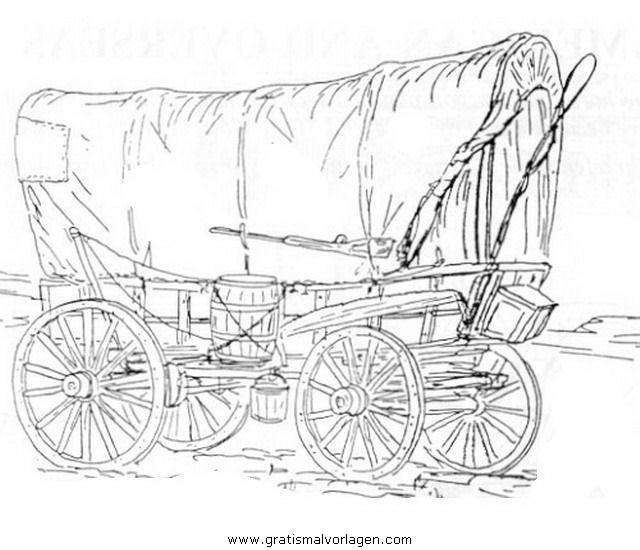 pferdekutsche 11 gratis Malvorlage in Pferdekutsche, Transportmittel ...