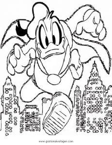 Phantomias 5 Gratis Malvorlage In Comic Trickfilmfiguren Donald