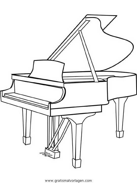 klavier gratis malvorlage in diverse malvorlagen, musik