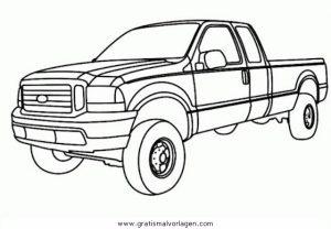 pickup 2 gratis malvorlage in autos, transportmittel - ausmalen