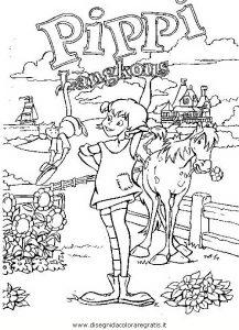 Pippi Langstrumpf 13 Gratis Malvorlage In Comic Trickfilmfiguren