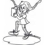 Pippi Langstrumpf Malvorlagen Zum Ausmalen Fur Kinder