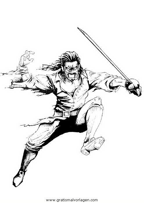 piraticaraibi 34 gratis malvorlage in comic