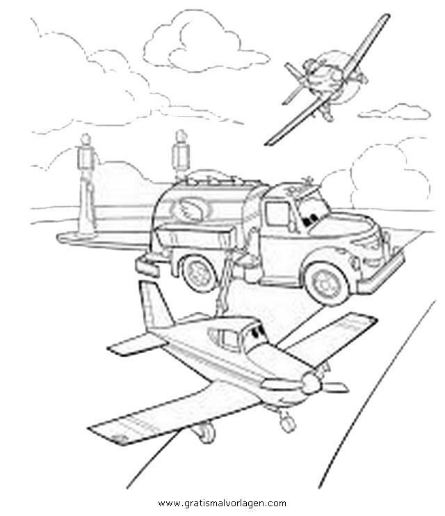Flugzeuge 8 Malvorlagen