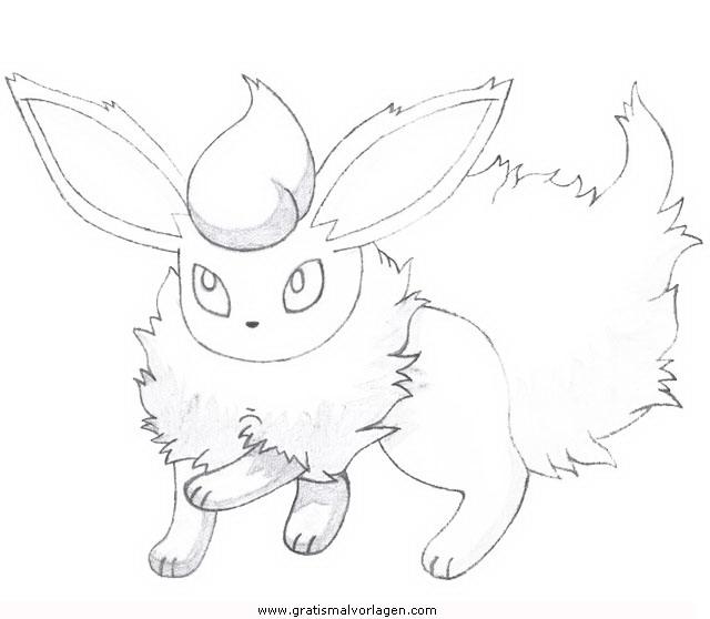 Pokemon Lugia2 Gratis Malvorlage In Comic: Pokemon Flamara 2 Gratis Malvorlage In Comic