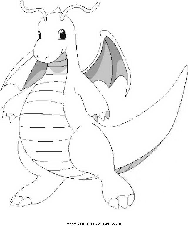 Pokemon Dragoran 2 Gratis Malvorlage In Comic