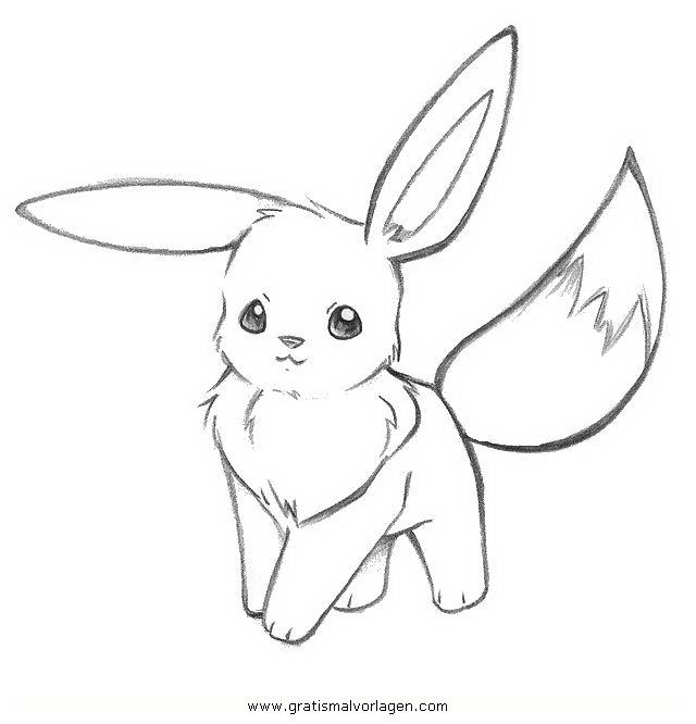 pokemon evoli 2 gratis Malvorlage in Comic ...