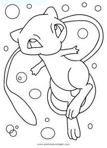Malvorlagen Pokemon Mew Malvorlagencr