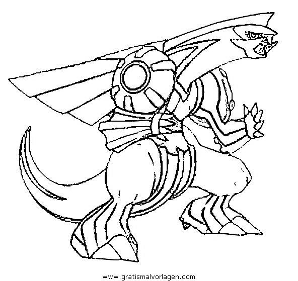 pokemon palkia 03 gratis malvorlage in comic