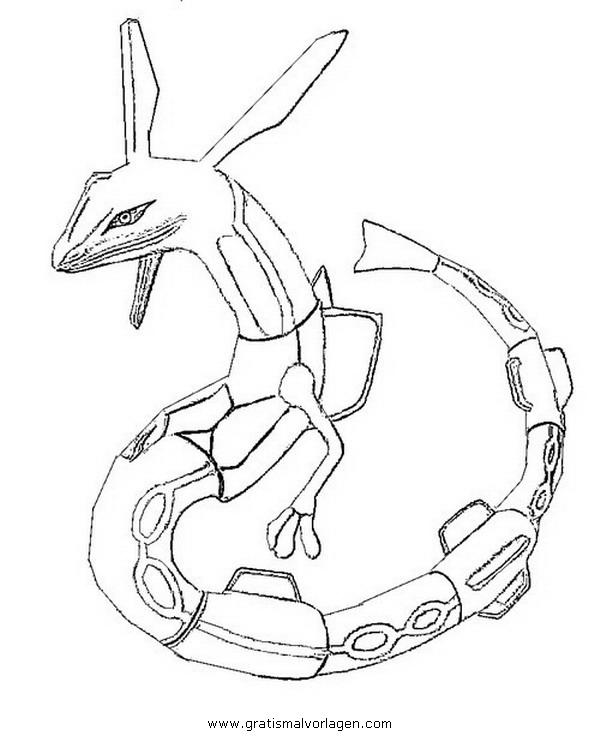 malvorlagen pokemon rayquaza  kostenlose malvorlagen ideen