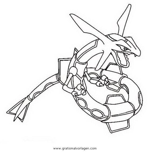 Malvorlagen Pokemon Rayquaza | My blog