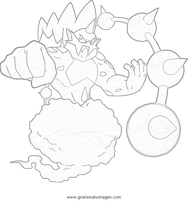 Pokemon Lugia2 Gratis Malvorlage In Comic: Pokemon Voltolos Gratis Malvorlage In Comic