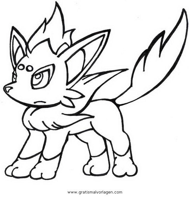 Pokemon Lugia2 Gratis Malvorlage In Comic: Pokemon Zorua 1 Gratis Malvorlage In Comic