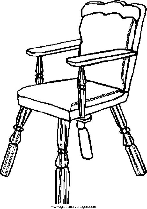 sessel 31 gratis malvorlage in diverse malvorlagen möbel