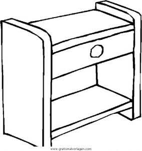 Malvorlage Möbel Sessel 87