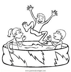 Pool 2 Gratis Malvorlage In Beliebt05 Diverse Malvorlagen Ausmalen