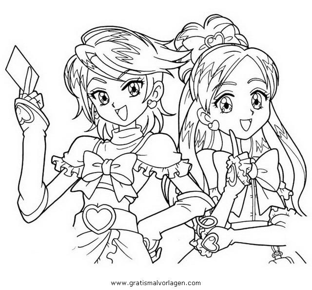 Pretty Cure 26 Gratis Malvorlage In Comic