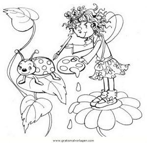 Prinzessin Lillifee 11 Gratis Malvorlage In Comic Trickfilmfiguren