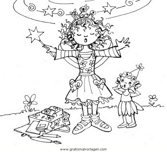 Ausmalbild Lillifee Ausdrucken: Prinzessin Lillifee 12 Gratis Malvorlage In Comic