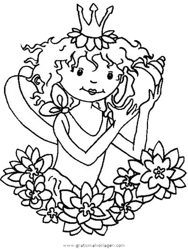 Ausmalbild Lillifee Ausdrucken: Prinzessin Lillifee 21 Gratis Malvorlage In Comic