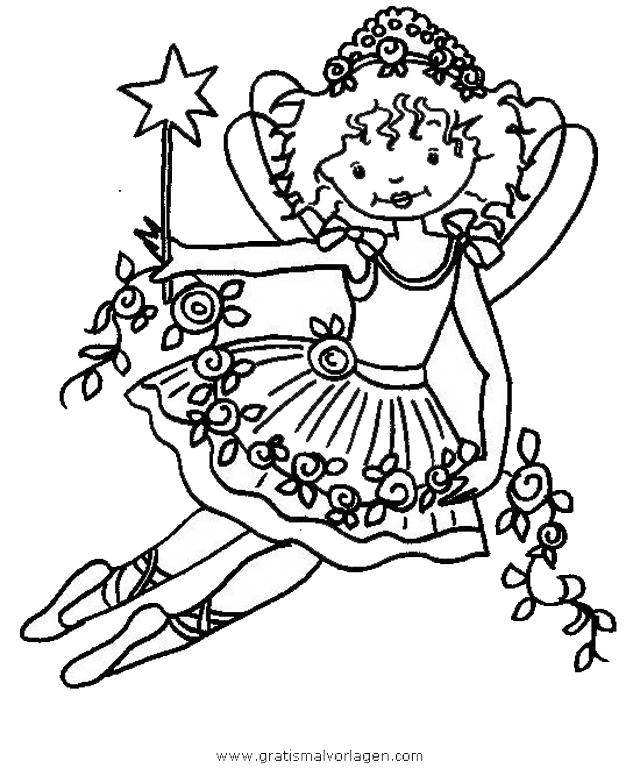 Prinzessin Lillifee 29 Gratis Malvorlage In Comic Trickfilmfiguren Prinzessin Lillifee Ausmalen