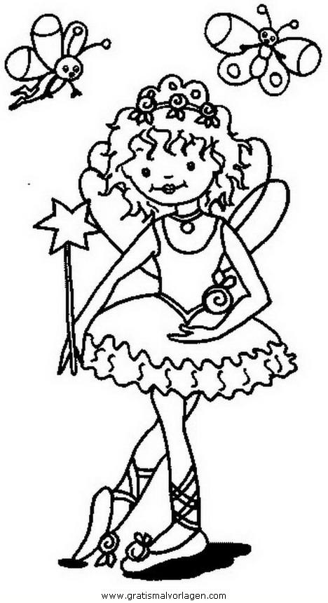 Prinzessin Lillifee 31 Gratis Malvorlage In Comic Trickfilmfiguren