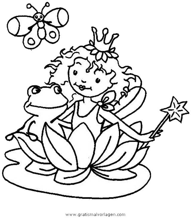 prinzessin lillifee 34 gratis malvorlage in comic